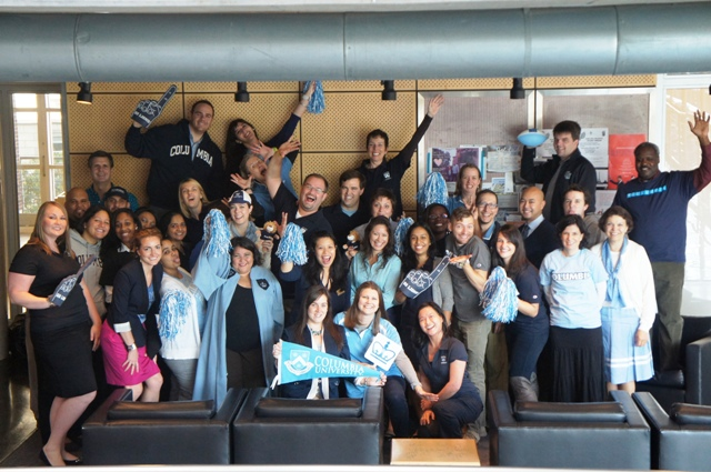 Happy Columbia Spirit Day from Columbia Student Affairs!