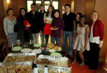 Dec. 25 holiday dinner at the LLC