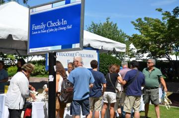 Family Orientation Check-in