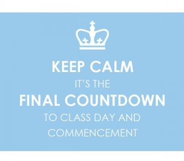 final countdown to graduation